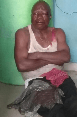 See How Notorious Fraudster Where Beaten Thoroughly For Allegedly Duping Woman Of N1.3m